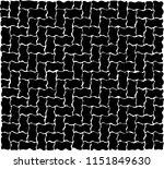 wavy bricks pattern  on marker... | Shutterstock .eps vector #1151849630