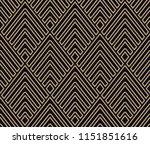 vector seamless geometric... | Shutterstock .eps vector #1151851616