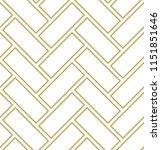 abstract geometric   golden... | Shutterstock .eps vector #1151851646