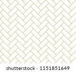 abstract geometric   golden... | Shutterstock .eps vector #1151851649