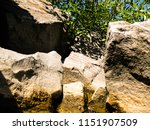 sunny stony shore and a bright... | Shutterstock . vector #1151907509
