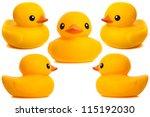 Yellow Rubber Duck   Bath Toys...
