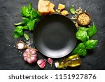 ingredients for making... | Shutterstock . vector #1151927876