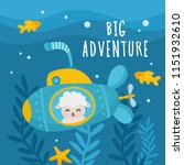 big adventure  beautiful... | Shutterstock .eps vector #1151932610