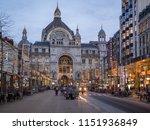 antwerp belgium   december ...   Shutterstock . vector #1151936849