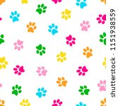 seamless patterns with colorful ... | Shutterstock .eps vector #1151938559