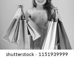 shopaholic and childhood... | Shutterstock . vector #1151939999