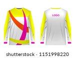templates of sportswear designs ...   Shutterstock .eps vector #1151998220