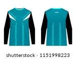 templates of sportswear designs ...   Shutterstock .eps vector #1151998223