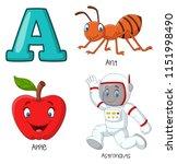 illustration of a alphabet   Shutterstock .eps vector #1151998490
