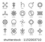 set of 20 icons such as good...