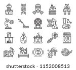 set of 20 icons such as petri... | Shutterstock .eps vector #1152008513