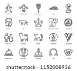 set of 20 simple editable icons ... | Shutterstock .eps vector #1152008936