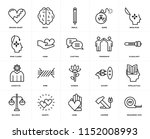 set of 20 icons such as... | Shutterstock .eps vector #1152008993