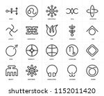 set of 20 icons such as taurus  ... | Shutterstock .eps vector #1152011420