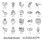 set of 20 icons such as light... | Shutterstock .eps vector #1152014279