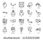 set of 20 icons such as socket  ... | Shutterstock .eps vector #1152023180