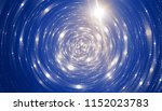 abstract blue bokeh circles on... | Shutterstock . vector #1152023783