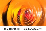 glowing tunnel from twisted... | Shutterstock . vector #1152032249