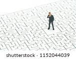 miniature people businessmen...   Shutterstock . vector #1152044039