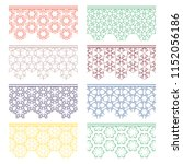 set of colorful seamless...   Shutterstock .eps vector #1152056186