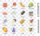 set of 16 icons such as tea ... | Shutterstock .eps vector #1152056873