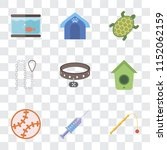 set of 9 simple transparency... | Shutterstock .eps vector #1152062159