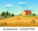 colorful illustration of... | Shutterstock . vector #1152077939