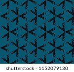 ornamental seamless pattern.... | Shutterstock .eps vector #1152079130