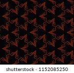 ornamental seamless pattern.... | Shutterstock .eps vector #1152085250