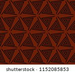 ornamental seamless pattern.... | Shutterstock .eps vector #1152085853