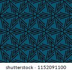 ornamental seamless pattern.... | Shutterstock .eps vector #1152091100
