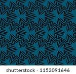 ornamental seamless pattern.... | Shutterstock .eps vector #1152091646
