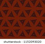 ornamental seamless pattern.... | Shutterstock .eps vector #1152093020