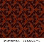 ornamental seamless pattern.... | Shutterstock .eps vector #1152093743