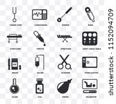 set of 16 icons such as...   Shutterstock .eps vector #1152094709