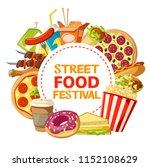 street food festival... | Shutterstock .eps vector #1152108629