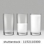 set of realistic illustrations  ... | Shutterstock . vector #1152110300