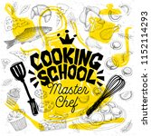 sketch style master chef...   Shutterstock .eps vector #1152114293