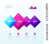 infographic design template.... | Shutterstock .eps vector #1152114890