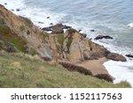 coastline  chimney rock  point...   Shutterstock . vector #1152117563