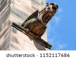 A Gargoyle On The Exterior Of...