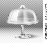 3d realistic vector cake stand... | Shutterstock .eps vector #1152122996