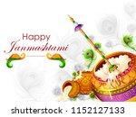 vector illustration of happy... | Shutterstock .eps vector #1152127133