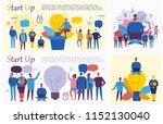 vector concept illustration... | Shutterstock .eps vector #1152130040