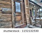 ranger residence in bodie | Shutterstock . vector #1152132530