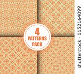 beautiful  vintage pattern... | Shutterstock .eps vector #1152164099