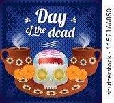 day of the dead altar... | Shutterstock .eps vector #1152166850