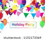design a holiday background... | Shutterstock .eps vector #1152173369