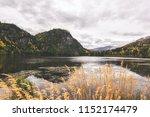 chitina lake next to mccarthy...   Shutterstock . vector #1152174479